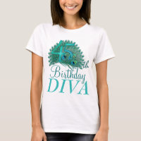 45th Birthday Diva Shirts