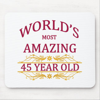 45th. Birthday Mouse Pad