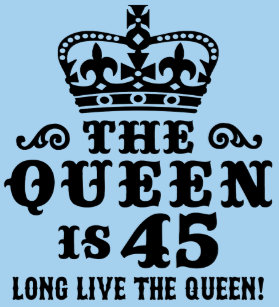 45th Birthday T Shirt