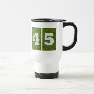 45th Birthday Yard Football Mug