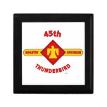 "45TH INFANTRY DIVISION ""THUNDEBIRD"" JEWELRY BOX"