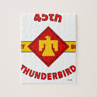 """45TH INFANTRY DIVISION """"THUNDEBIRD"""" PUZZLE"""