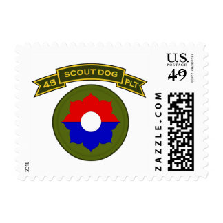 45th IPSD - 9th Infantry Postage Stamps