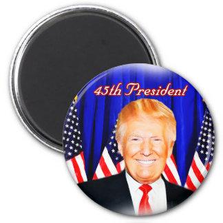 45th President-Donald Trump _ Magnet