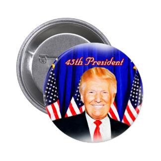 45th President-Donald Trump _ Pinback Button