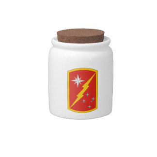 45th Sustainment Brigade Candy Jars