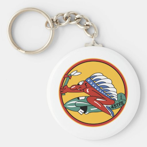 45th Tactical Fighter Squadron Keychain