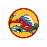 45th Tactical Fighter Squadron Postcard