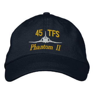 45th TFS F-4 Golf Hat Embroidered Baseball Caps
