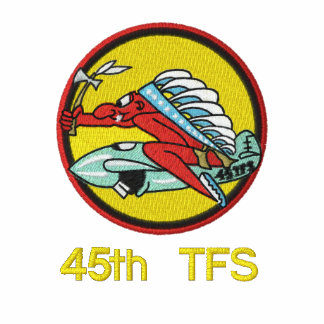 45th TFS Polo W/F-4 and Call Sign (Dark Polo)