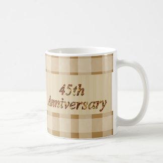 45th Wedding Anniversary Gifts Coffee Mug