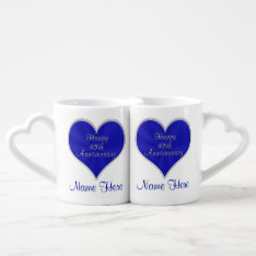 45th Wedding Anniversary Gifts For Parents, Couple Coffee Mug Set at Zazzle