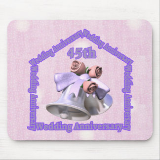 45th Wedding Anniversary Gifts Mouse Pad