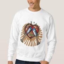 45th Wedding Anniversary Gifts Sweatshirt