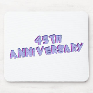 45thanniversary7t mouse pad