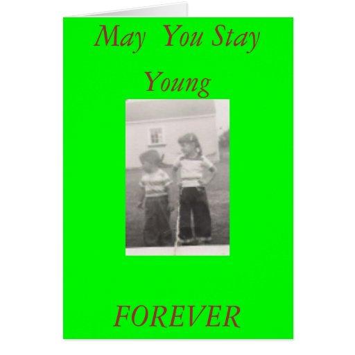 4610254_TN, mayo usted permanece, los jóvenes, PAR Felicitaciones