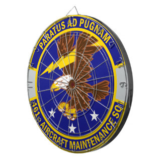 461st Aircraft Maintenance Squadron Dartboards
