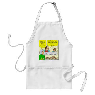 463 kosher bacon Goyem pastrami Cartoon Adult Apron