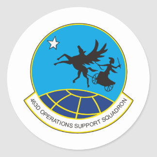 463rd OSS operations support squadron Classic Round Sticker