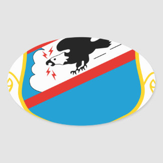 464th Tactical Airlift Wing Oval Sticker