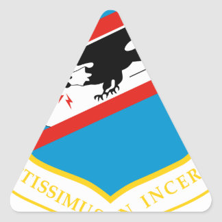 464th Tactical Airlift Wing Triangle Sticker