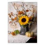 4663 Autumn Floral Sympathy Card