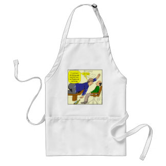 467 gave up realizing high five cartoon adult apron