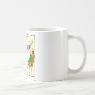 467 gave up realizing high five cartoon coffee mug