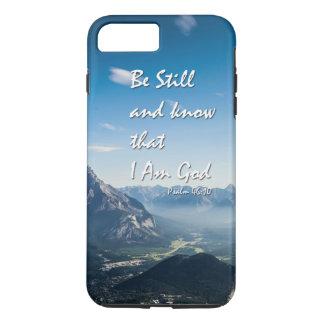46:10 de los salmos del verso de la biblia funda iPhone 7 plus