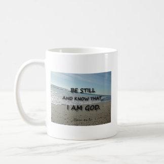 46:10 del salmo - todavía esté taza de café