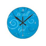46:10 del salmo - todavía esté y sepa que soy dios reloj