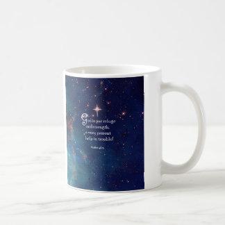 46 1 del salmo taza de café