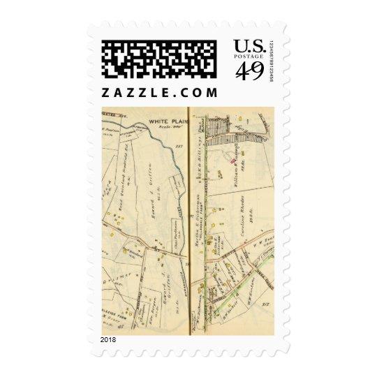 46-47 White Plains, Scarsdale Postage
