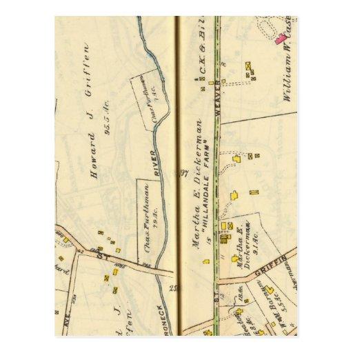 46-47 White Plains, Scarsdale Postales