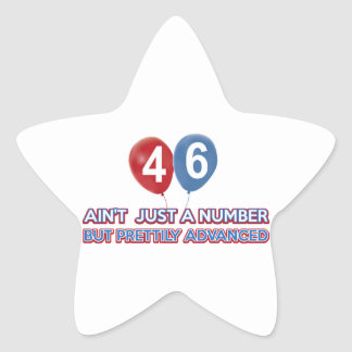 46 aint just a number stickers