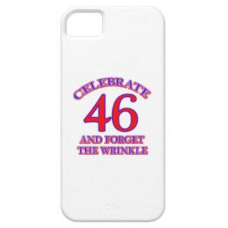 46 Birthday Design iPhone SE/5/5s Case