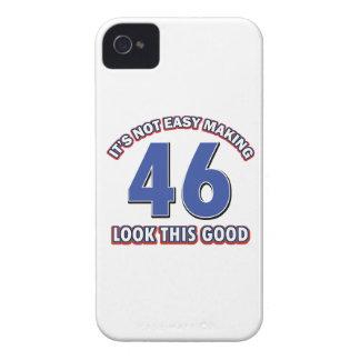 46 birthday designs iPhone 4 Case-Mate case