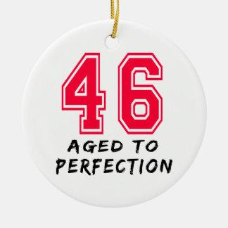 46 envejeció al diseño del cumpleaños de la perfec ornamento de reyes magos