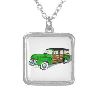 46 Ford Woodie - verde Collar Personalizado