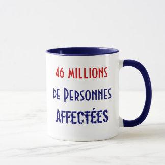 46 millions de Personnes Affectées Mug