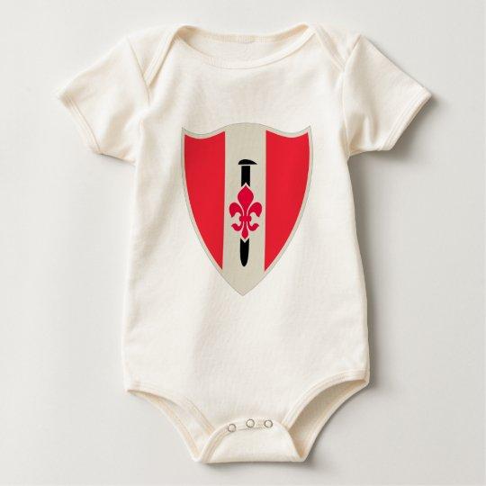 46.o Batallón del ingeniero militar Body Para Bebé
