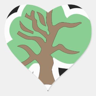 46.o División Pegatina De Corazón