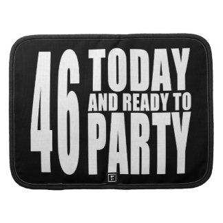 46.o Fiestas de cumpleaños: 46 hoy y aliste para Planificador