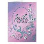 46.o Tarjeta de cumpleaños con las estrellas del d