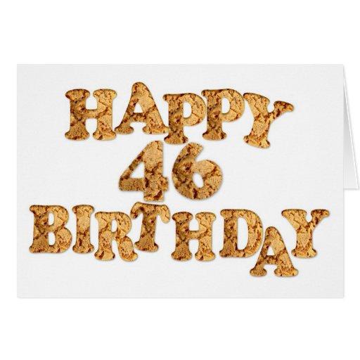 46.o Tarjeta de cumpleaños para un amante de la