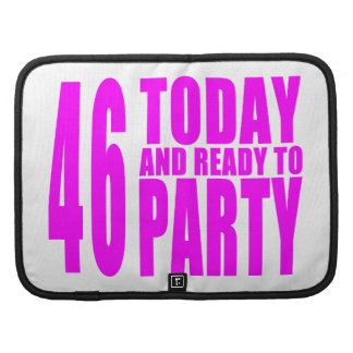 46.os cumpleaños de los chicas: 46 hoy y aliste planificador