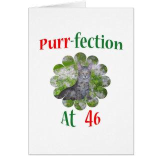 46 Purr-fection Card