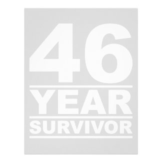 46 year survivor letterhead