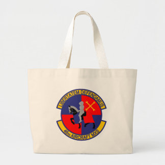 46th Aircraft Maintenance Squadron Large Tote Bag
