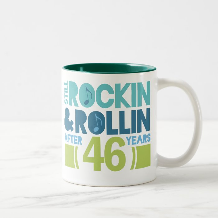 Wedding Gift Coffee Mugs : 46th Anniversary Wedding Gift Two-Tone Coffee Mug Zazzle